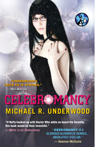 Cover for Celebromancy, by Michael R. Underwood