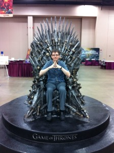 Mike Underwood on the Iron Throne of Westeros
