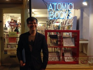 Author Michael R. Underwood at Atomic Books