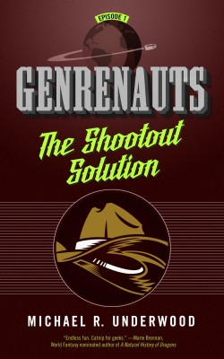 Genrenauts: The Showdown Solution book cover