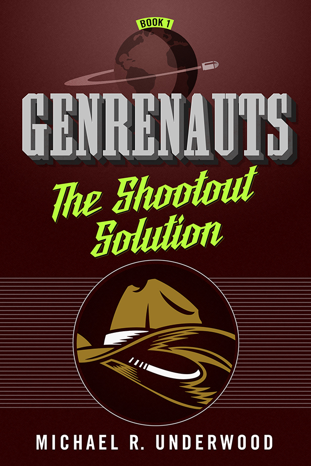 cover of The Shootout Solution, art by Peter Lutjen