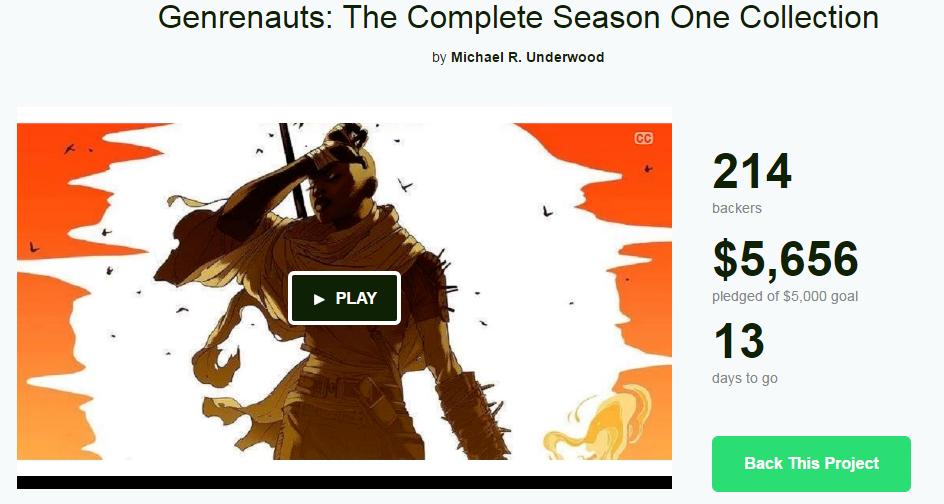 Kickstarter funded
