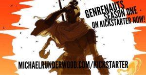 Genrenauts Kickstarter card