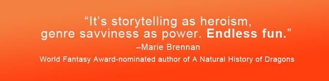Marie Brennan blurb