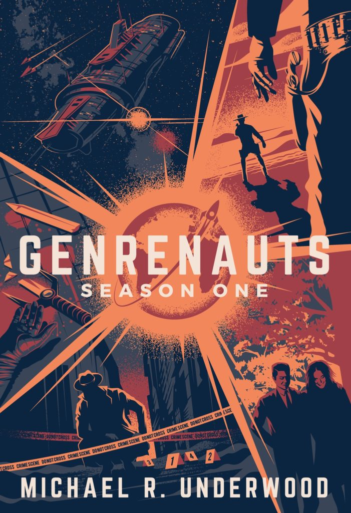 Genrenauts Season One cover - art by Thomas Walker